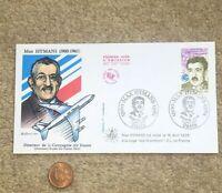 1990 FDC Envelope Masonic French Postage Stamp Max Hymans