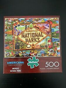 Americana Collection America's National Parks 500 Piece Jigsaw Puzzle