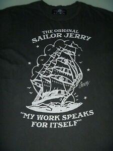 #9330 SAILOR JERRY T Shirt Size XL
