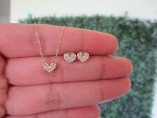.30 CTW Diamond Earrings & Ring Set 18k Yellow Gold JS56 sep