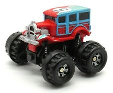 1987 Micro Machines Ford '20s Woody #5 Super 4x4 Blue/Red by Galoob Rare!