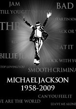 POSTER MICHAEL JACKSON MOON WALKER MICHEAL CD DVD #15
