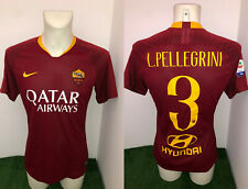 Pellegrini Roma Maglia INDOSSATA vs Parma 2018 2019 Match Worn Shirt MATCH DAY