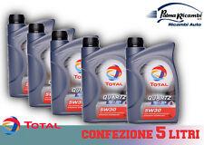 OLIO MOTORE TOTAL QUARTZ INEO MC3 5W30 5 litri 5x1L confezione da 5 litri