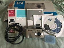 HP PhotoSmart M307 3.2MP Digital Camera - Silver complete kit
