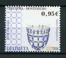 Montenegro 2018 MNH Historical Heritage Daitreta Glass 1v Set Artefacts Stamps