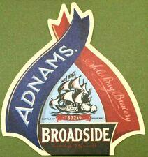 Adnams Broadside Beer Mat