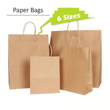 More details for quality carrier brown kraft paper gift, fashion bags strong twisted handle cheap
