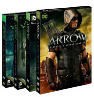 ARROW - LA SERIE COMPLETA 1, 2, 3, 4 (20 DVD) COFANETTI SERIE TV DC Comics