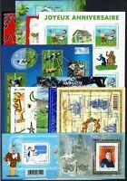 AD138545/ FRANCE – MINI-SHEETS / LOT 2007 - 2011 MINT MNH CV 240 $