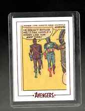 Marvel The Avengers  Silver Age  Archive Cuts AV20 card 199/200