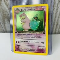 1st Edition Dark Slowbro Holo 12/82 Holo  Pokemon Card Team Rocket NEAR MINT