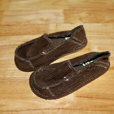 REEF  KIDS TODDLERS Shoes Size 11 Brown Corduroy Boys Slip On