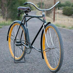 Vintage Iver Johnson Superior Truss BICYCLE Prewar ArchbarFrame Cruiser Bike TOC