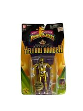 1995 Yellow Ranger Special Edition - Power Rangers 5? Metallized- Auto Morphin