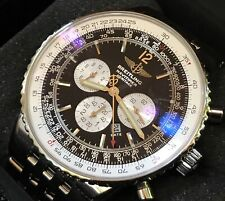 2001 Breitling Navitimer Heritage A35350 Box & Papers JUST SERVICED BY BREITLING