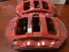 PORSCHE 911 997 REAR RED BREMBO BRAKE CALIPERS 996 C4 REAR CALIPERS