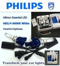 Genuine PHILIPS Ultinon Ess. LED HB3 HB4 9005/6 6000K Bright Light Bulb x2 #Agtc