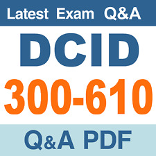 Cisco 300-610 DCID Real Exam Questions & Answers - PDF