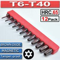 T25 TR Draper Schroder Security Tamper Resistant Torx 25 Star Bit 1//4 Proof