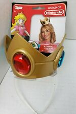 World of Nintendo Super Mario Princess Peach Crown Costume Accessories Jewel NEW