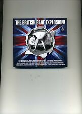 THE BRITISH BEAT EXPLOSION! - ADAM FAITH BILLY FURY CLIFF SHADOW - 3 CDS - NEW!!