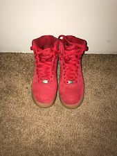 nike air force 1 Red , woman size 7