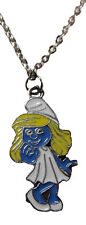 "The Smurfs SMURFETTE Character Metal/Enamel PENDANT w/ 17"" Chain"
