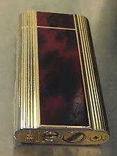 Vintage ZiPPO Contempo Japan Butane Lighter BrownRedBlack Lacquer