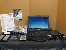 Panasonic Toughbook CF-53 2.7 MK3 480 SSD DVDRW 4G LTE  GPS WIN 10 Fingerprint