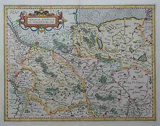 Saxonia inferior et Meklenborg - Niedersachen, Mecklenburg - Von Mercator - 1600