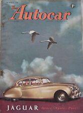 Autocar magazine 30/4/1954 featuring Fiat road test