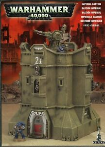 Imperial Bastion Warhammer 40k Games Workshop New In Box(D)