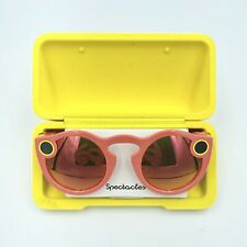 Snap Inc. Snapchat Spectacles Gen 1 Specs Snap Glasses Coral Red New Open Box