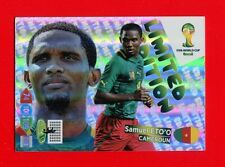 BRASIL 2014 - Adrenalyn Panini - Card Limited edition - ETO'O - CAMEROUN