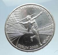 2009 GERMANY Berlin Javelin IAAF Champ Genuine Silver German 10 Euro Coin i75072
