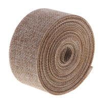10 Meters Burlap Hessian Ribbon Roll Garland Material Wedding Rustic Adorn