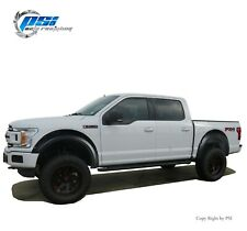 Pocket Bolt Style Fender Flares Fits Ford F-150 2018-2020 Paintable Finish