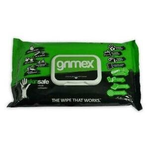 Grimex wipes Skinsafe+Alove+Vitamin E Ink&Paint Oil&Grease The  wipe That Works
