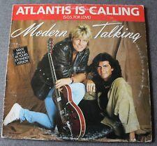 Modern Talking, atlantis is calling (sos for love) , Maxi vinyl France