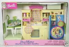 BARBIE DECOR COLLECTION KITCHEN PLAYSET NRFB