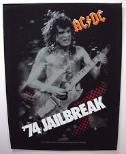 ACDC   ' 74 JAILBREAK BACK  PATCH