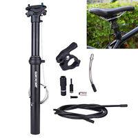 Bike Dropper Seatpost 30.9/31.6mm External Internal Cable Remote Seat Post