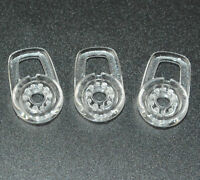 3Pcs Clear Ear Gels for Plantronics Discovery 925 975 Bluetooth Headsets