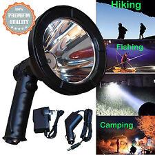 12v CREE LED Handheld Hunting Spot Light Lamp 125mm Lamping Foxing Shooting 100W