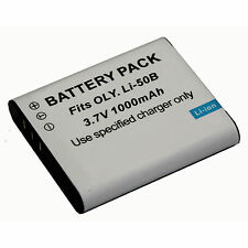 For Olympus Li-50B Lithium-ion Battery (3.7V 1000mAh) AU ship