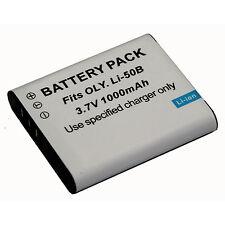 Li-Ion Battery For LI-50B Olympus u9010 u1030 u TOUGH 8010 8000 SP-815UZ