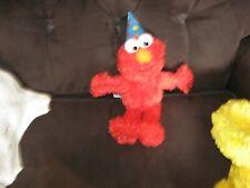 Sesame Street 123 Happy Birthday Elmo With Birthday Hat Brand New Tags