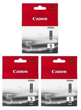 New Genuine Canon PGI-5 P.Black 3 PK Ink Cartridges PIXMA iP3500 iP4200 MP510