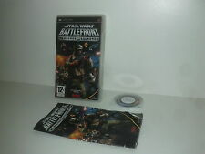STAR WARS BATTLEFRONT Renegade Squadron - SONY PSP - PAL complet